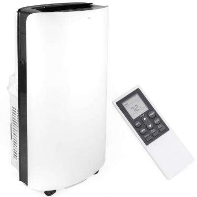14,000 BTU 4-in-1 Portable Air Conditioner with LCD Display, Heater, Dehumidifier and Remote Control in White