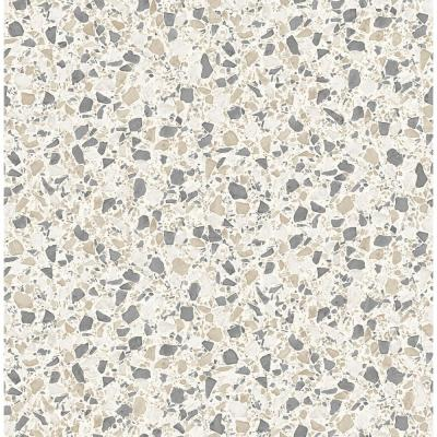 Aldrich Multicolor Terrazzo Wallpaper Sample