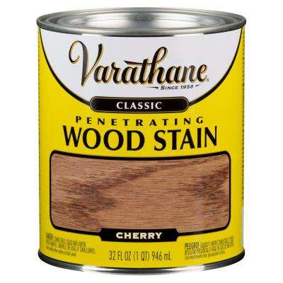 1 qt. Cherry Classic Wood Interior Stain (2-Pack)