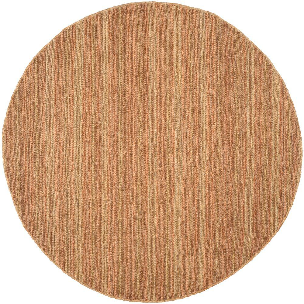 Safavieh Organica Gold 6 ft. x 6 ft. Round Area Rug