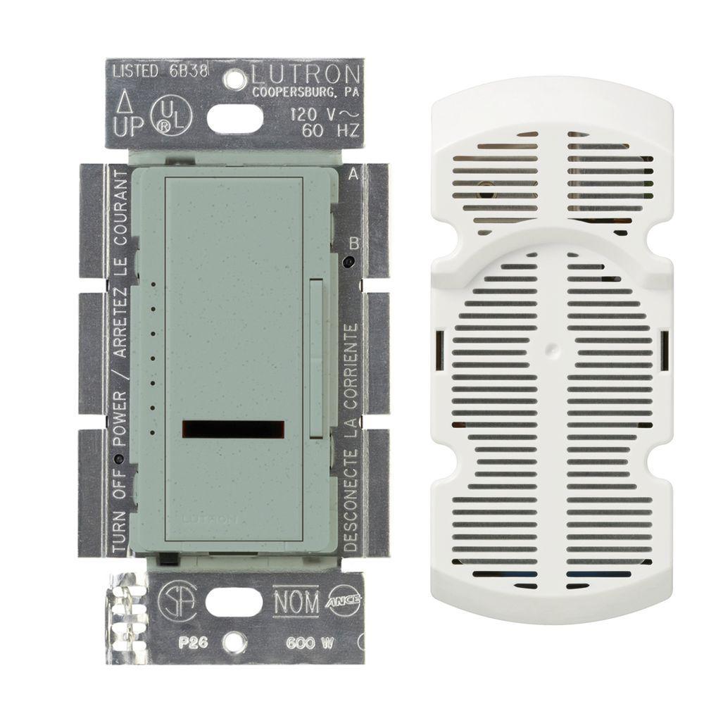 Maestro IR Multi-Location 7-Speed Digital Fan Control - Bluestone