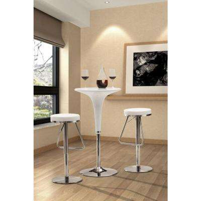 Soda 31 in. Chrome Cushioned Bar Stool