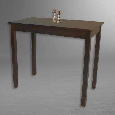 Espresso Dining Table