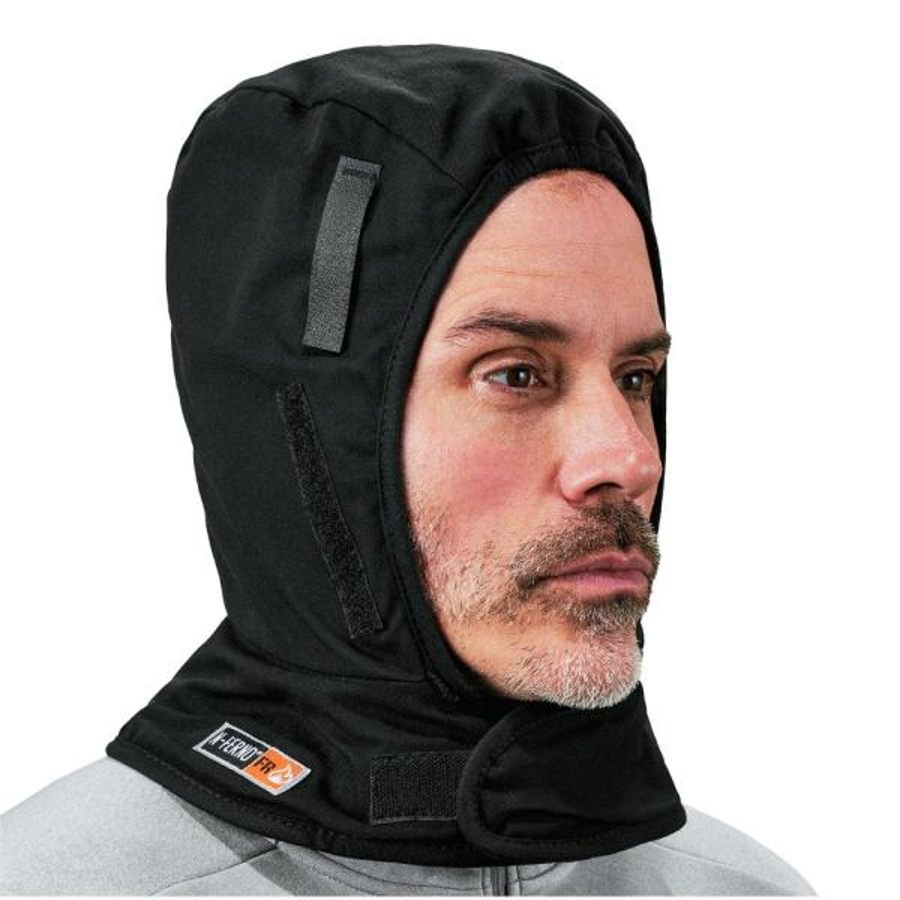 N-Ferno Shoulder Black 2-Layer FR Winter Hat Liner