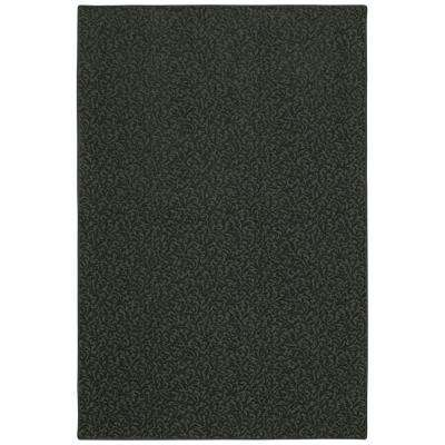 Pattern Perry Rough Stone Texture 12 ft. x 15 ft. Bound Carpet Remnant