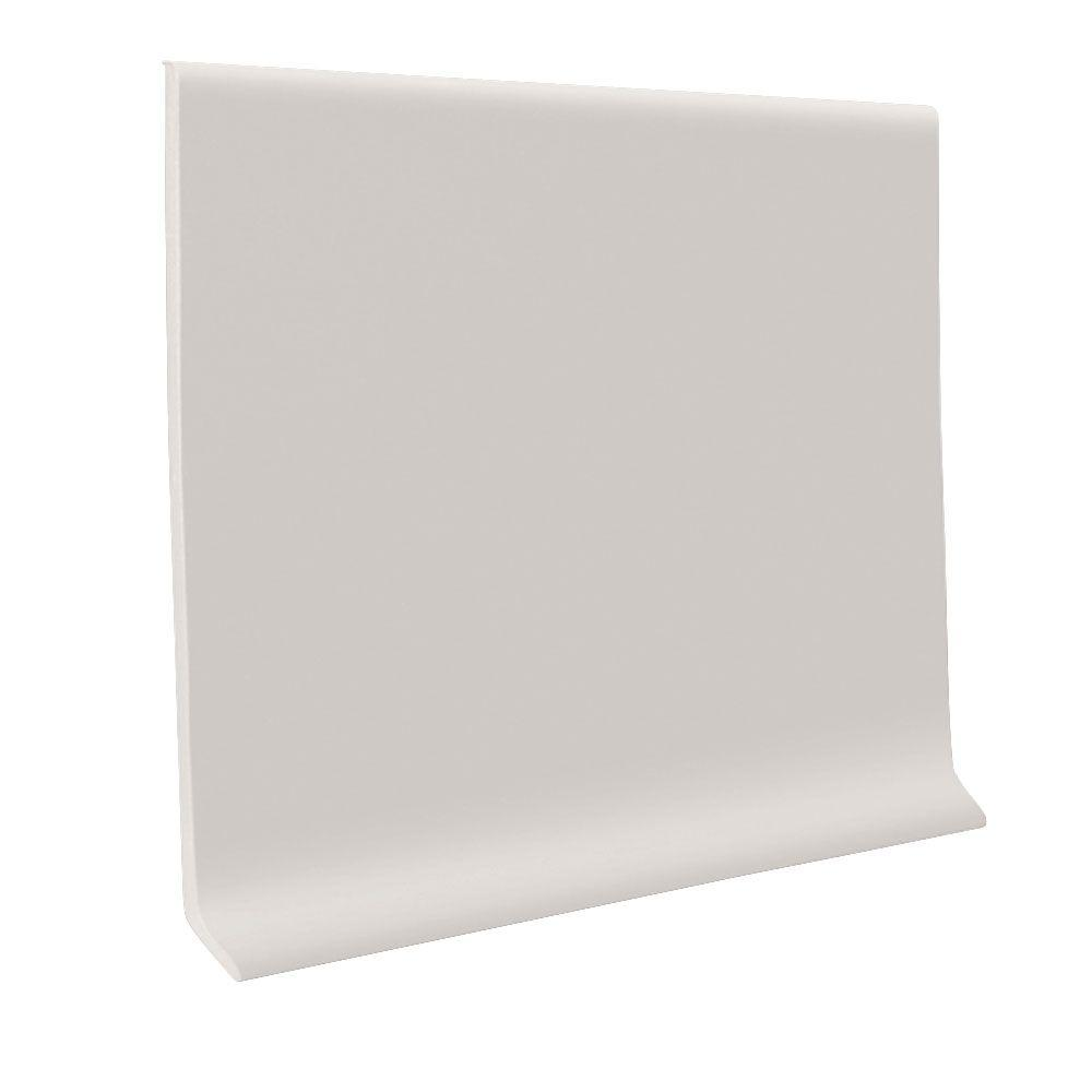Natural 4 in. x 120 ft. x 1/8 in. Vinyl Wall