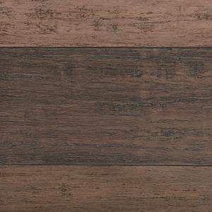 Home Decorators Collection Hand Scraped Strand Woven Terra Cotta 3 8 In T X 5 1 5 In W X 36 02 In L Engineered Click Bamboo Flooring Hl634h The Home Depot