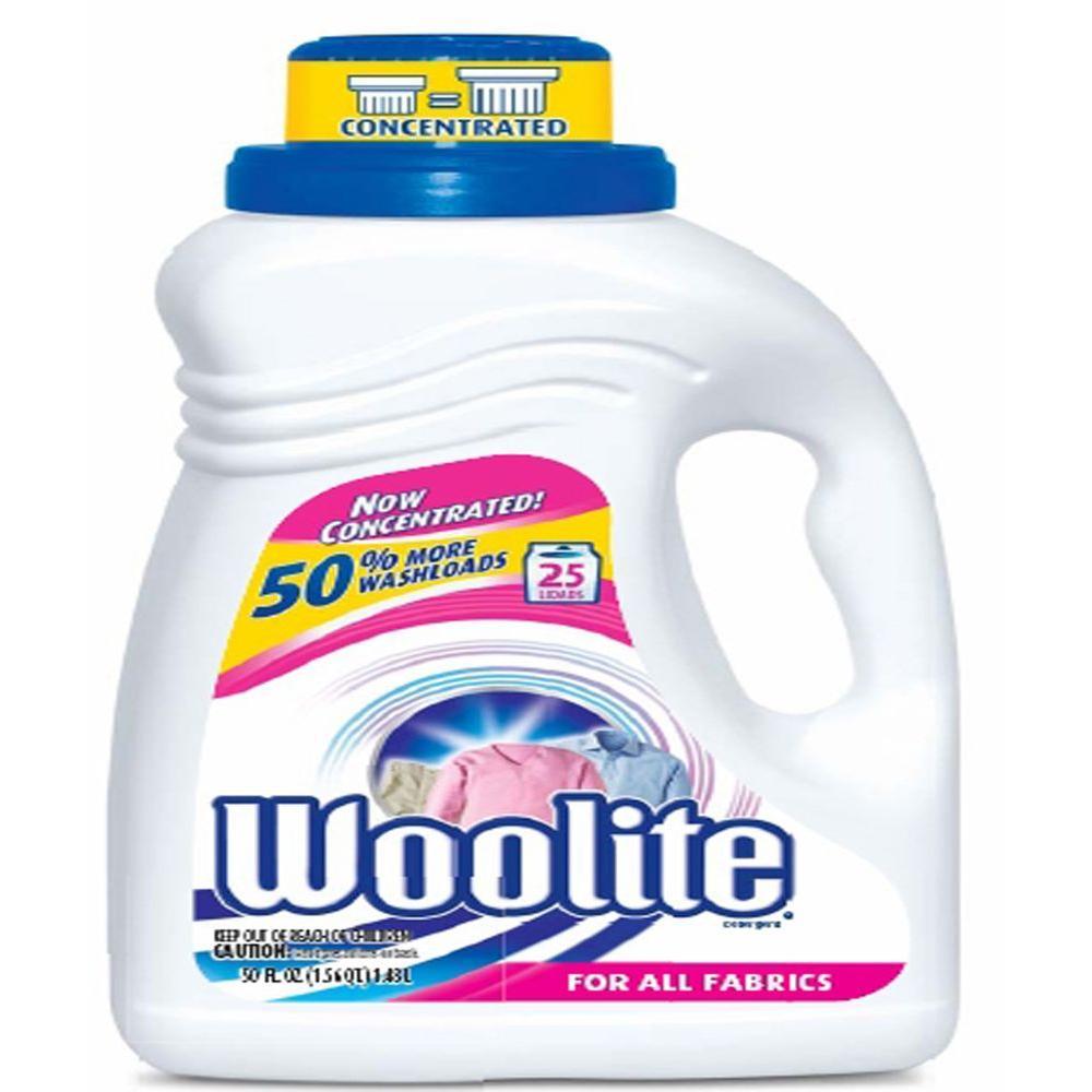 Woolite 50 oz. Original Scent Laundry Detergent-77940 ...