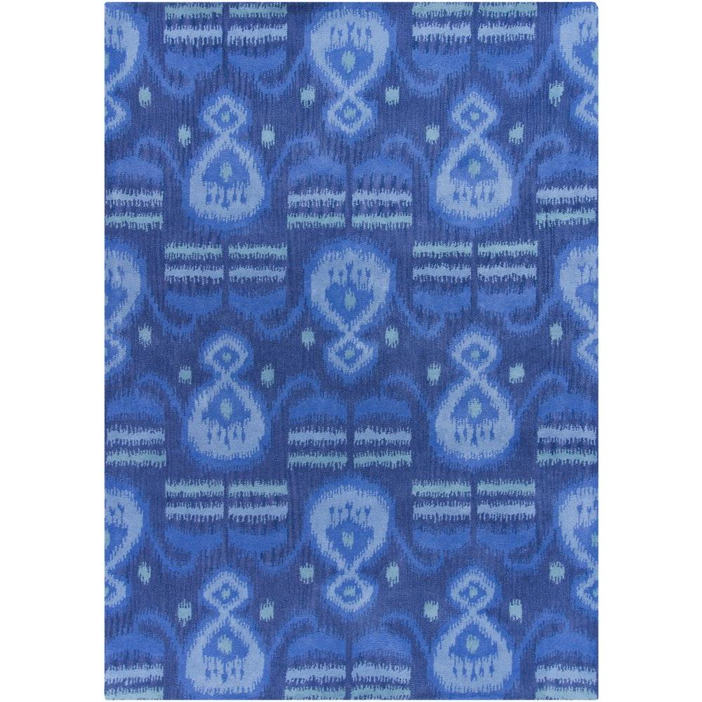 Lina Blue 5 ft. x 7 ft. Indoor Area Rug