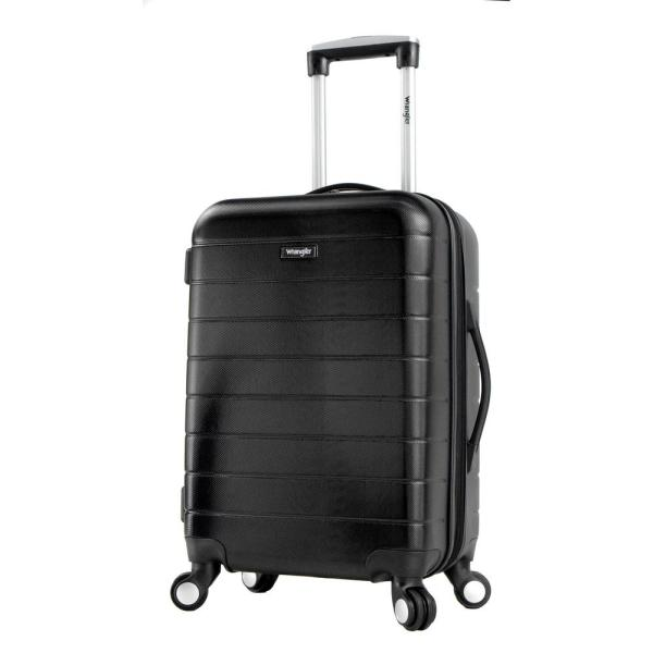 f711f576a Hardside Carry-On Bag with Spinner Wheels and Patented 3-in-1 Functionality.  by Wrangler