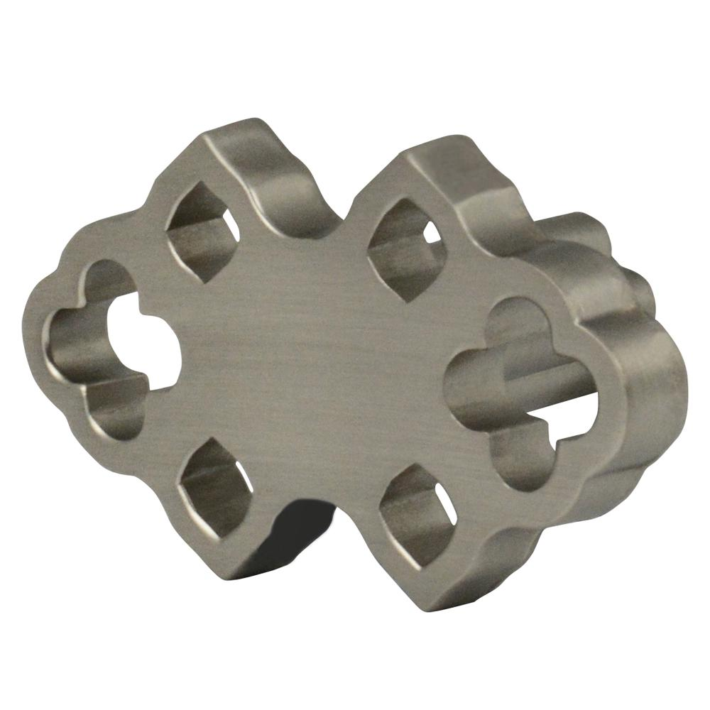 Wisdom Stone Granada 1-7/10 x 1 in. Satin Nickel Cabinet Knob