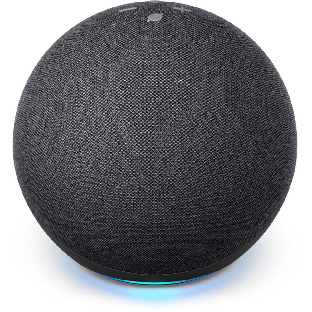Echo Dot (4th Gen) Smart Speaker with Alexa - Charcoal