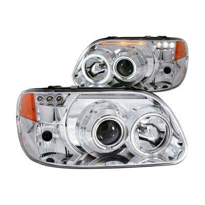 1995-2001 Ford Explorer Projector Headlights w/ Halo Chrome 1 pc