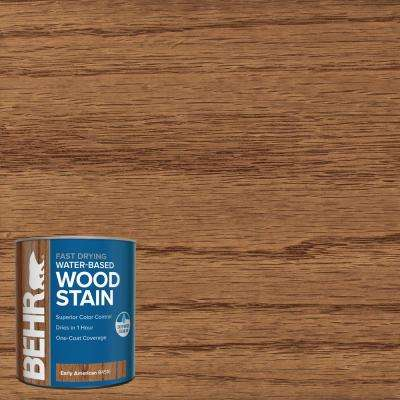 1 qt. #TIS-516 Early American Transparent Water-Based Fast Drying Interior Wood Stain