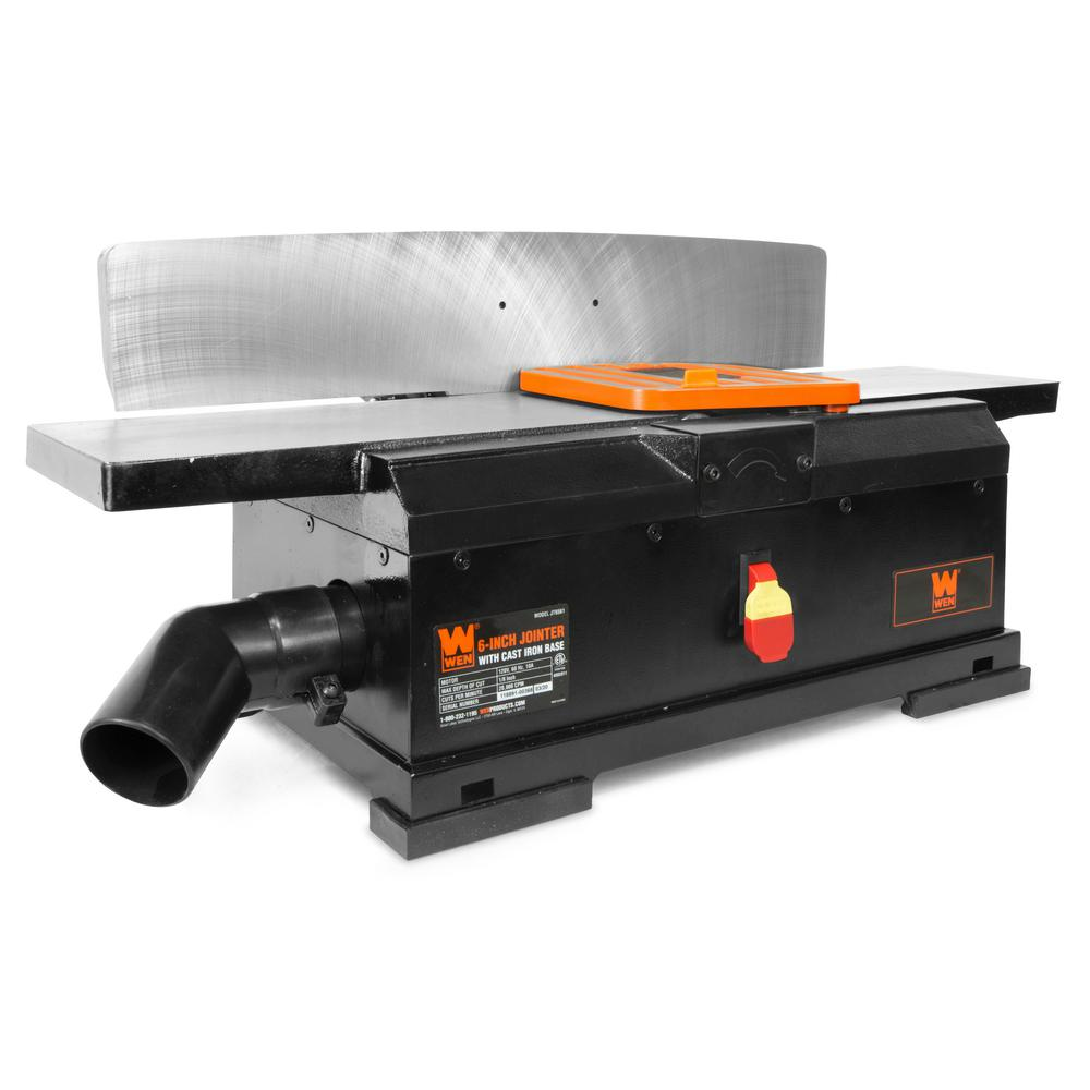 WEN 10 Amp 6 in. Corded Benchtop Jointer with Cast Iron Base