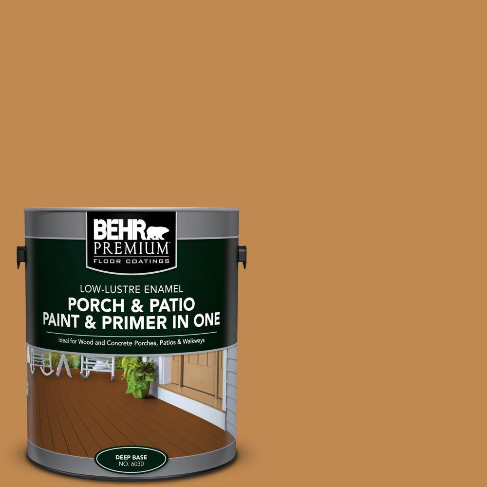 Charming BEHR Premium 1 Gal. #M250 6 Toffee Tart Low Lustre Interior/