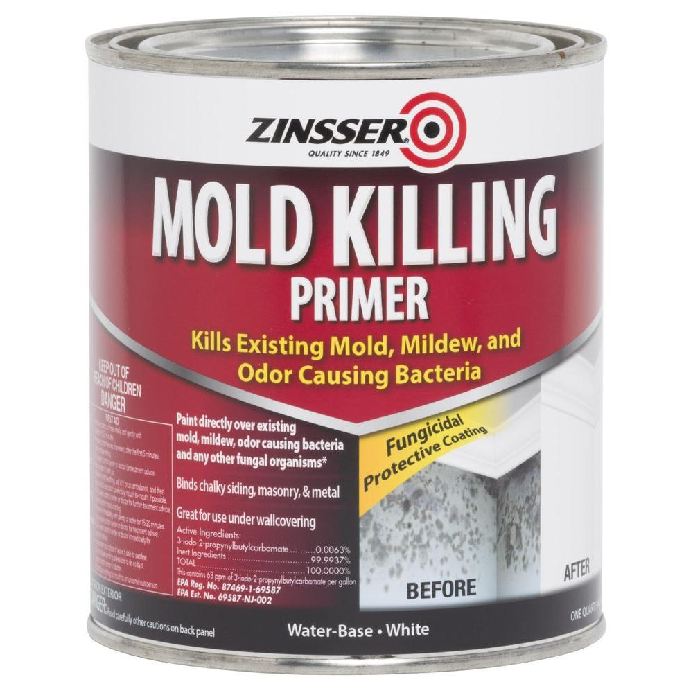 Zinsser 1 Qt Mold Killing Primer Case Of 4 276087 The