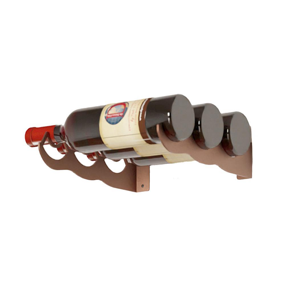 Eagle Edition 3-Bottle Wall Mounted Wine Rack