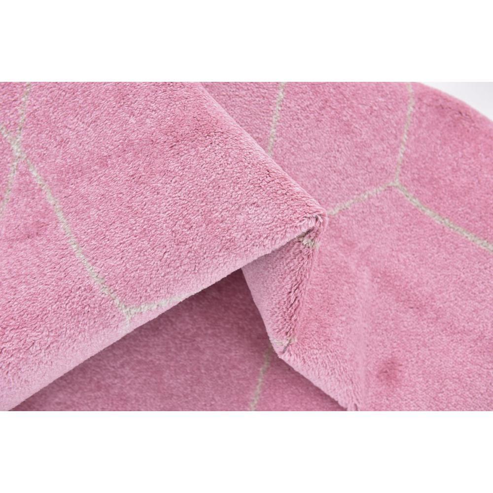 Trellis Frieze Light Pink/Ivory 8 ft. x 10 ft. Geometric Area Rug
