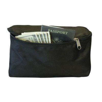 5 in. H x 10 in. W Zippered hook and loop Pouch