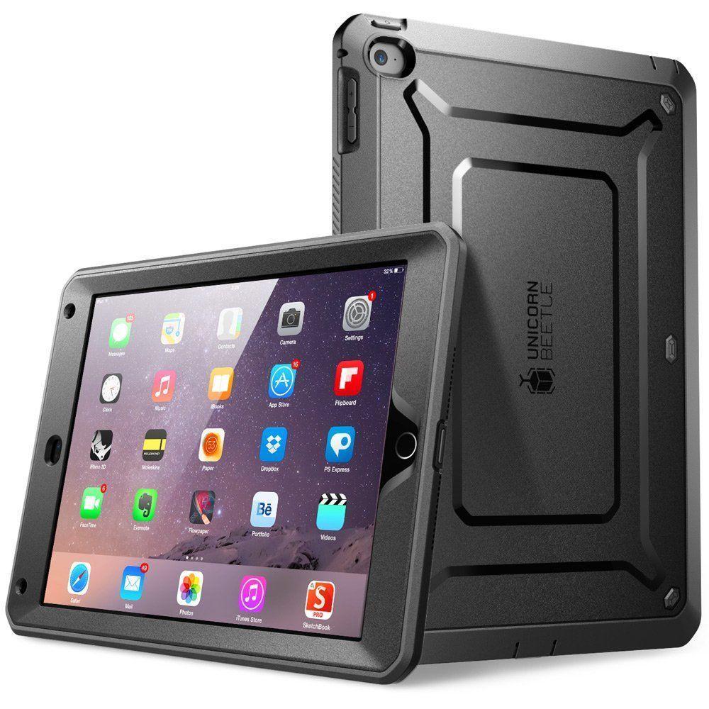 Unicorn Beetle Pro Full Body Case for Apple iPad Air 2, Black/Black