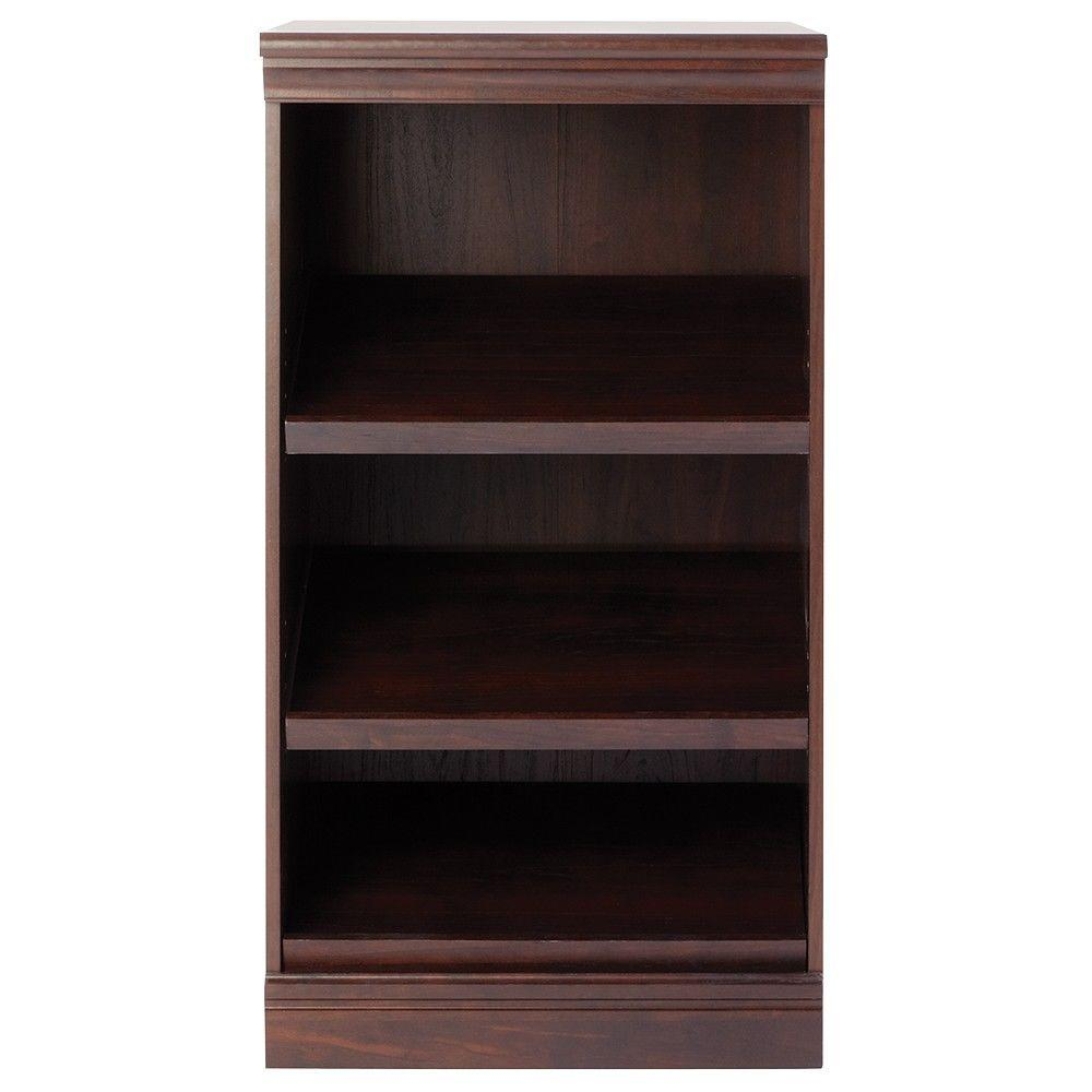 Home Decorators Collection Manhattan 4-Shelf Modular Storage Shoe Shelf in Cherry