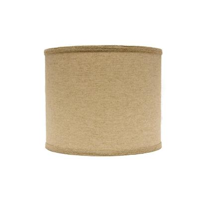 10 in. x 10 in. Neutral Brown Lamp Shade
