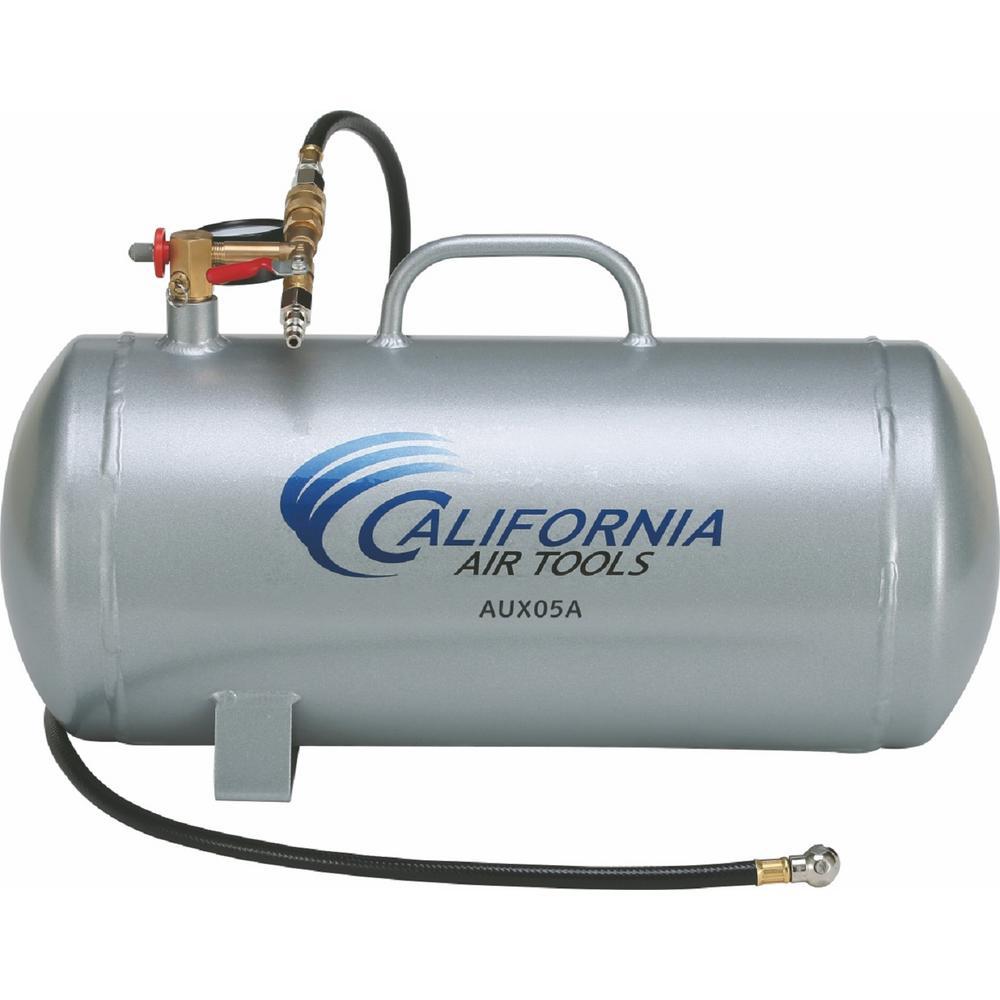 California Air Tools 5 Gal. Lightweight Portable Aluminum Air Tank by California Air Tools