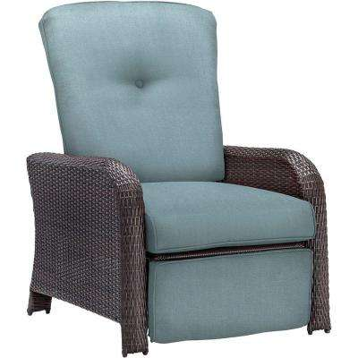 Strathmere All Weather Wicker Reclining Patio Lounge ...