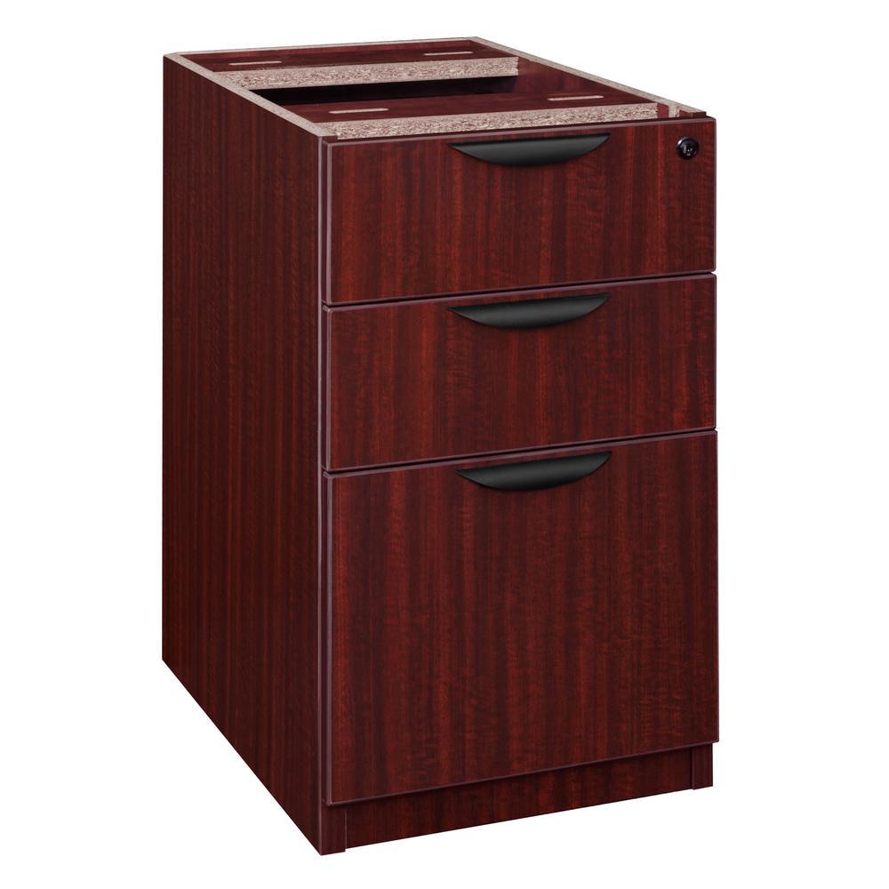 Legacy Mahogany Box Box File Pedestal