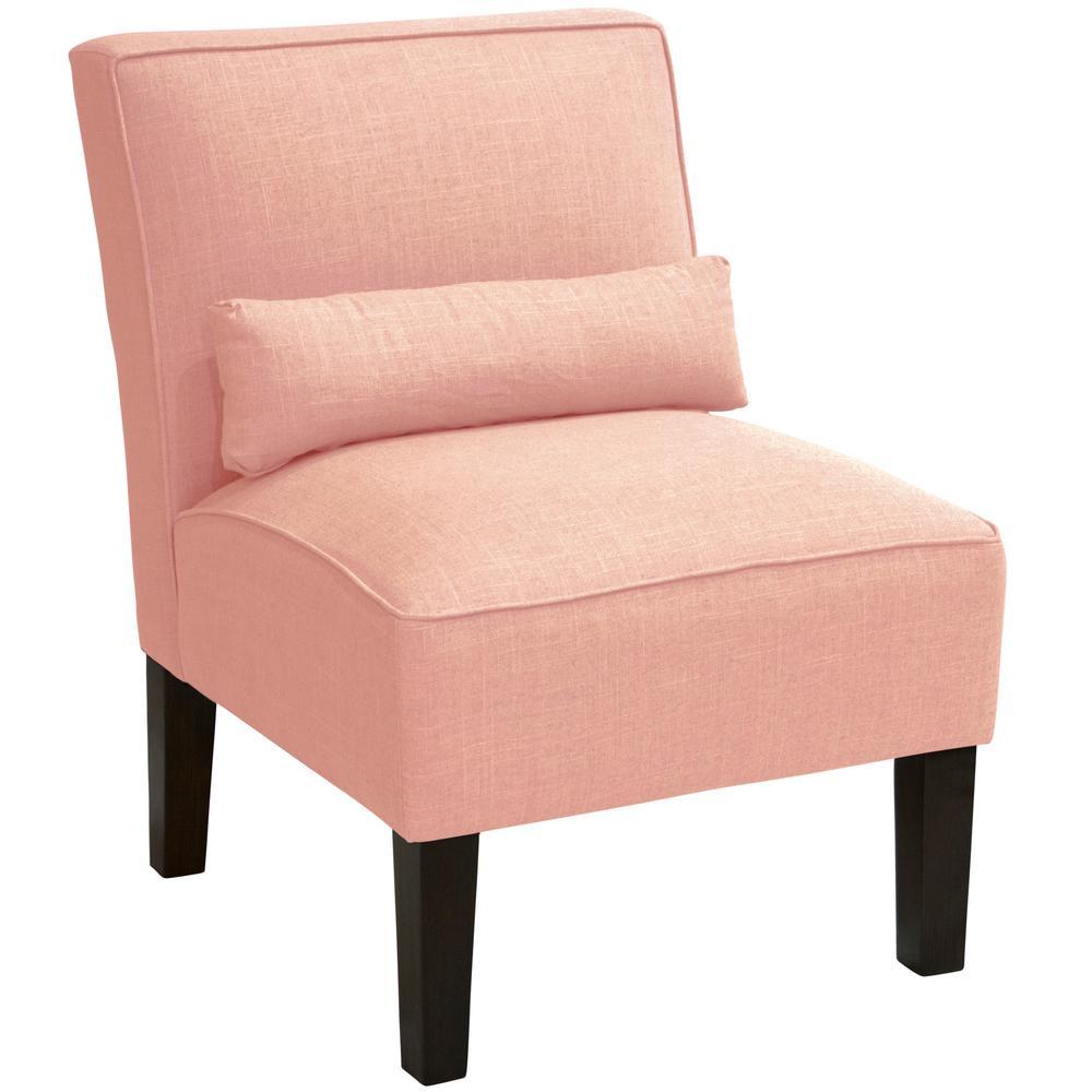 Linen Petal Armless Chair