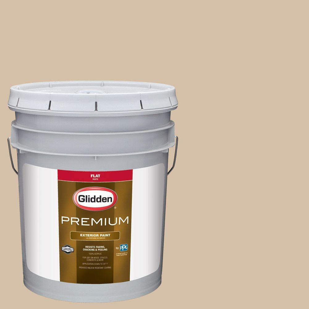 Hdgwn19 Mushroom Cap Flat Latex Exterior Paint