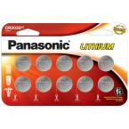 CR2032 Lithium Coin Cell Batteries (10-pack)