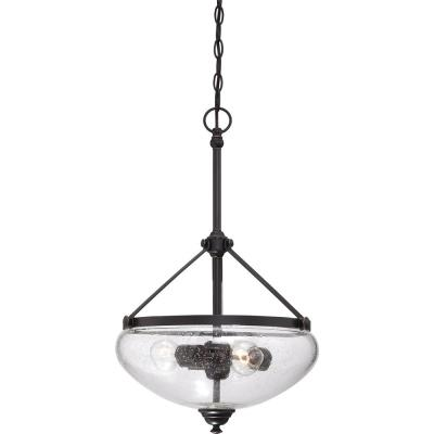 Nora 3-Light Sudbury Bronze Pendant