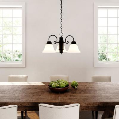 Millbridge 3-Light Oil Rubbed Bronze Chandelier