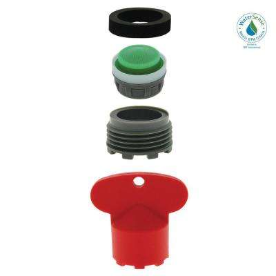 1.5 GPM MOEN Cache M21.5X1.5 Water-Saving Aerator with Key
