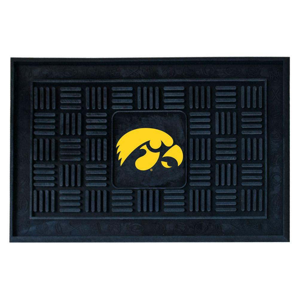 FANMATS University of Iowa 18 in. x 30 in. Door Mat