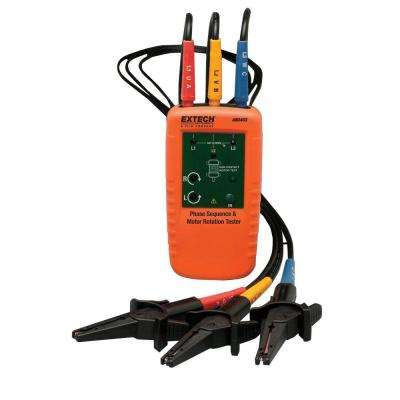 Motor Rotation and 3-Phase Tester