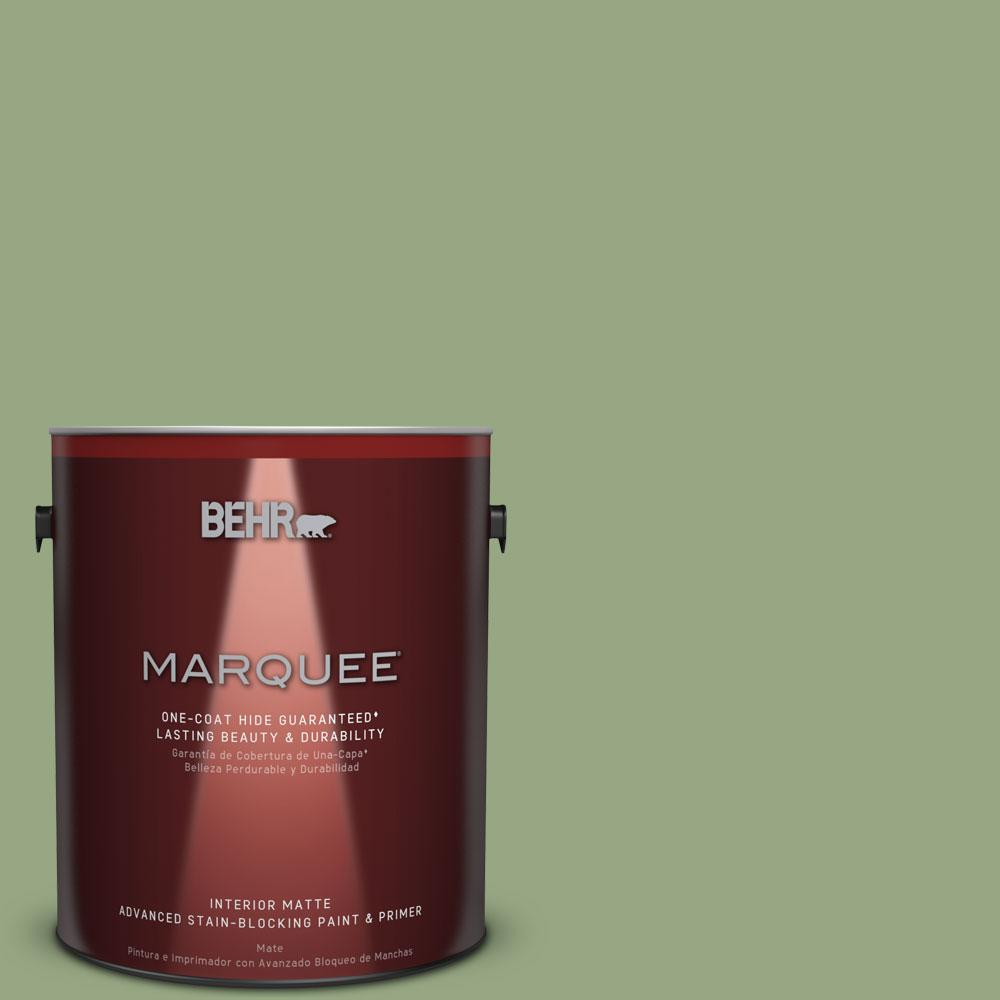 BEHR MARQUEE 1 gal. #MQ3-24 Celestial Light One-Coat Hide Matte ...