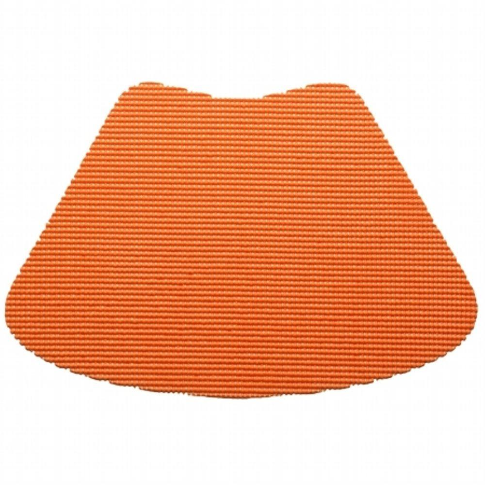 Fishnet Wedge Placemat in Spice Orange (Set of 12)