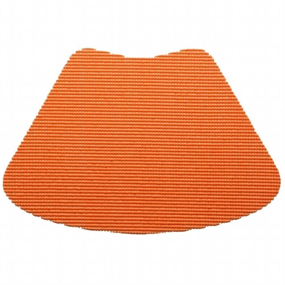 Kraftware Fishnet Wedge Placemat in Spice Orange (Set of 12) by Kraftware