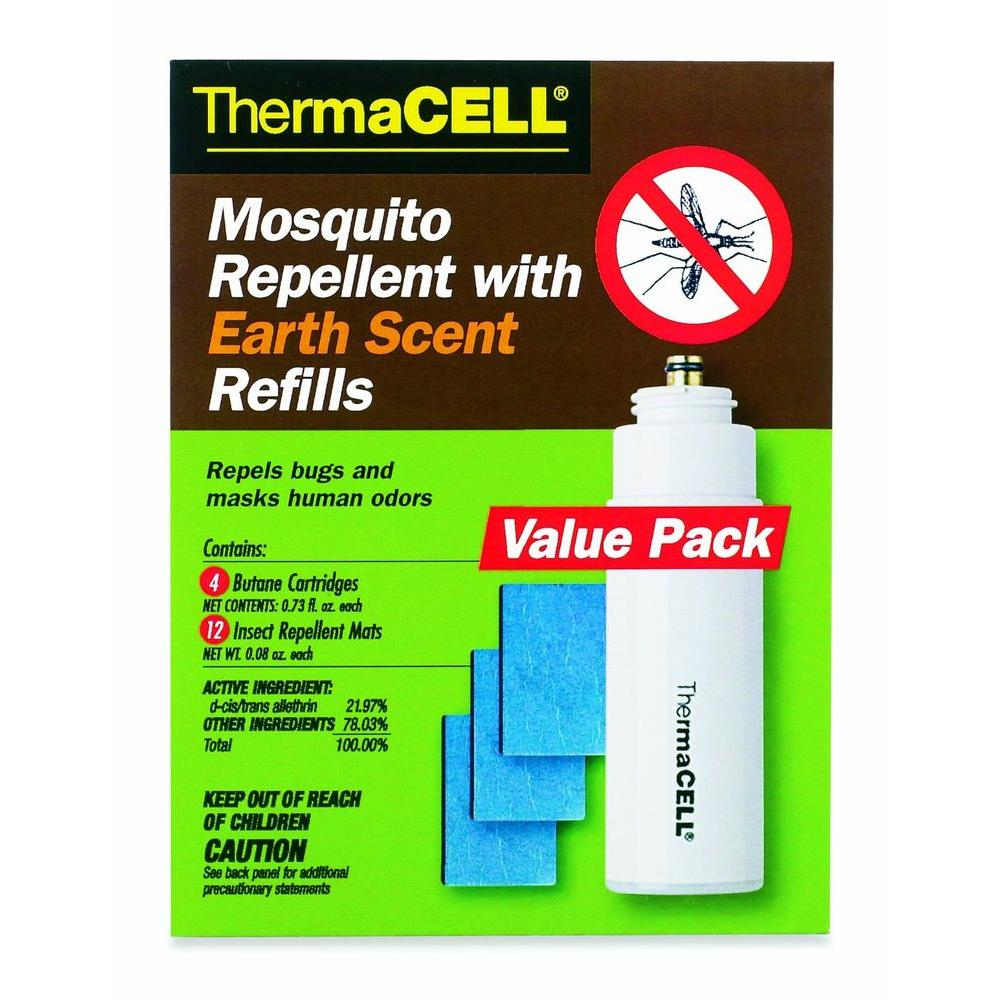 Thermacell earth scent mosquito repellent 48 hour refill pack for thermacell earth scent mosquito repellent 48 hour refill pack for appliances and lanterns falaconquin