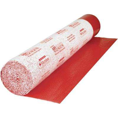 AirGuard 100 sq. ft. 40 in. x 30 ft. x 1/8 in. Premium 3-in-1 Underlayment with Microban