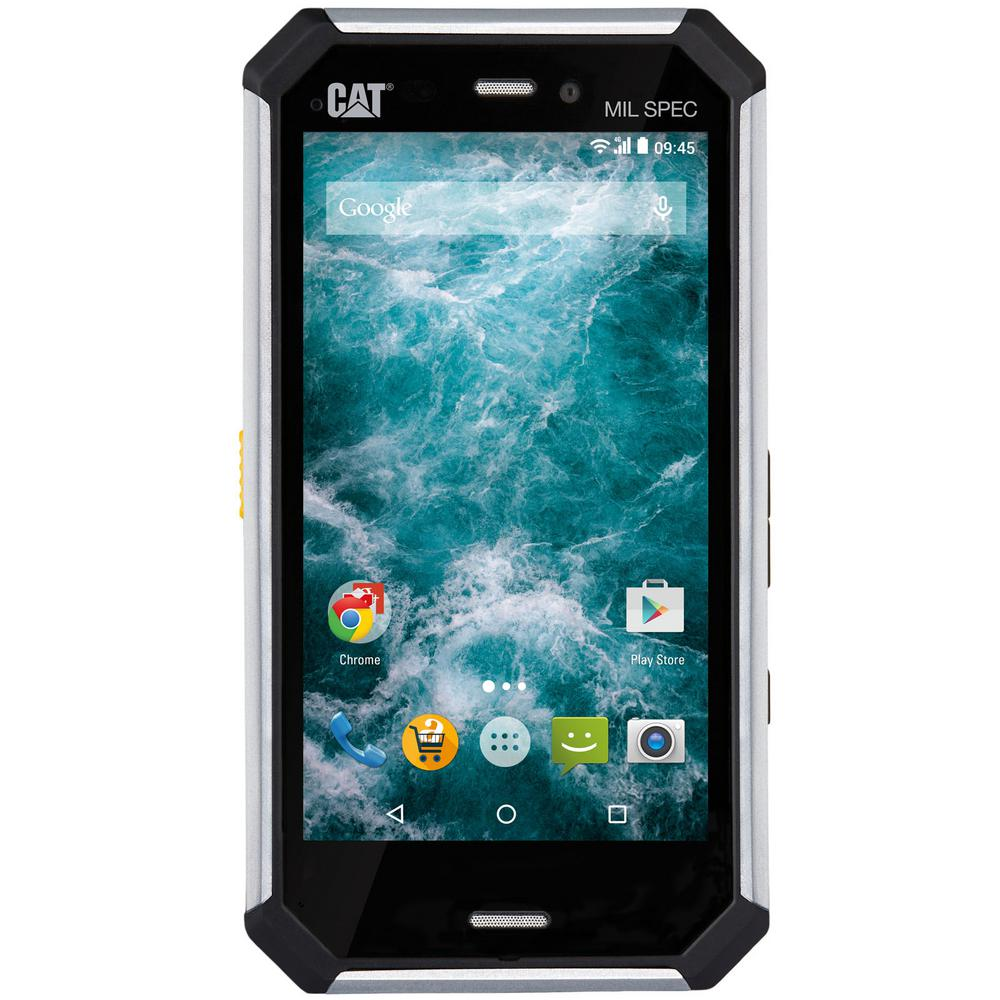 Charming CAT Rugged Waterproof Smartphone For Verizon Wireless C50CSSUSV01UAB   The  Home Depot