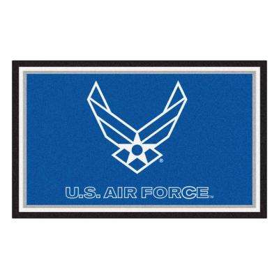 U.S. Air Force 4 ft. x 6 ft. Area Rug
