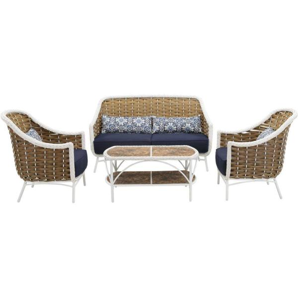 Weather Wicker Patio Seating