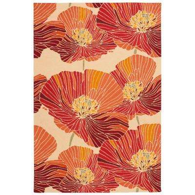 Fantasy Sunset 4 ft. x 6 ft. Area Rug