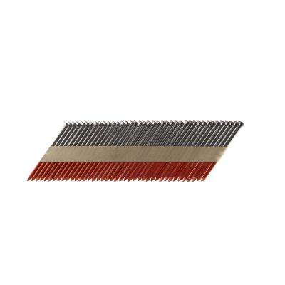 3-1/4 in. x 0.131 Paper Tape Collated Bright Smooth Shank Framing Nails (500 per Box)