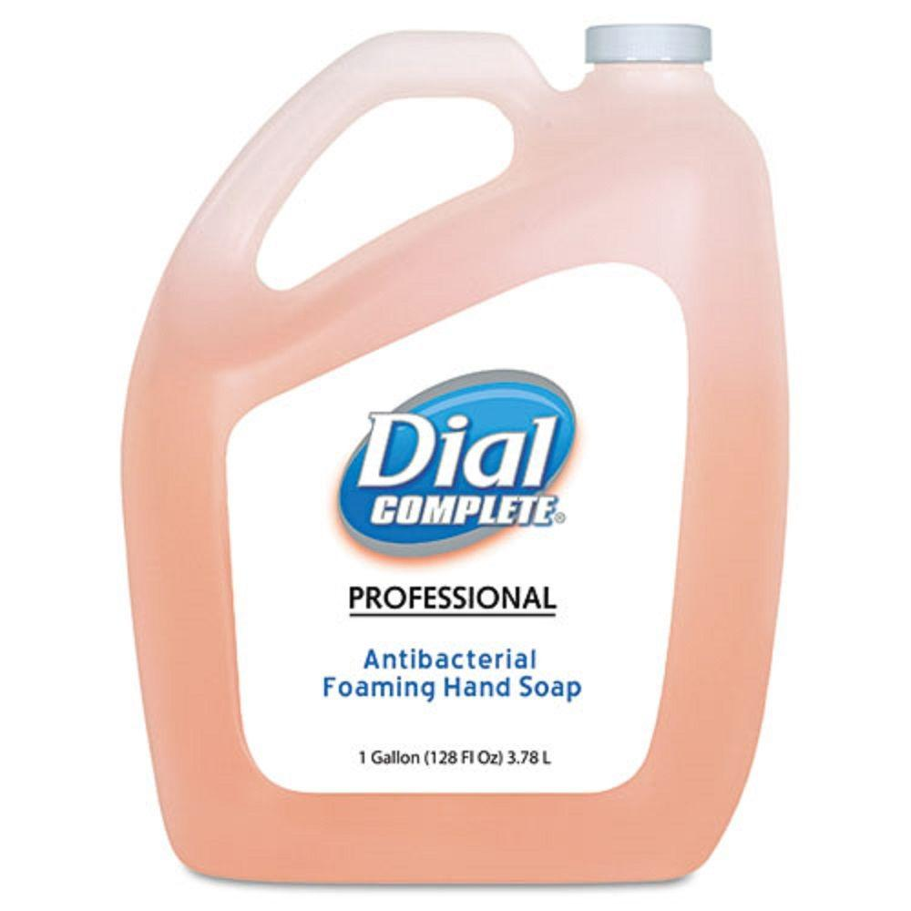 DIAL 1 Gal. Antimicrobial Foaming Hand Soap (Case of 4)