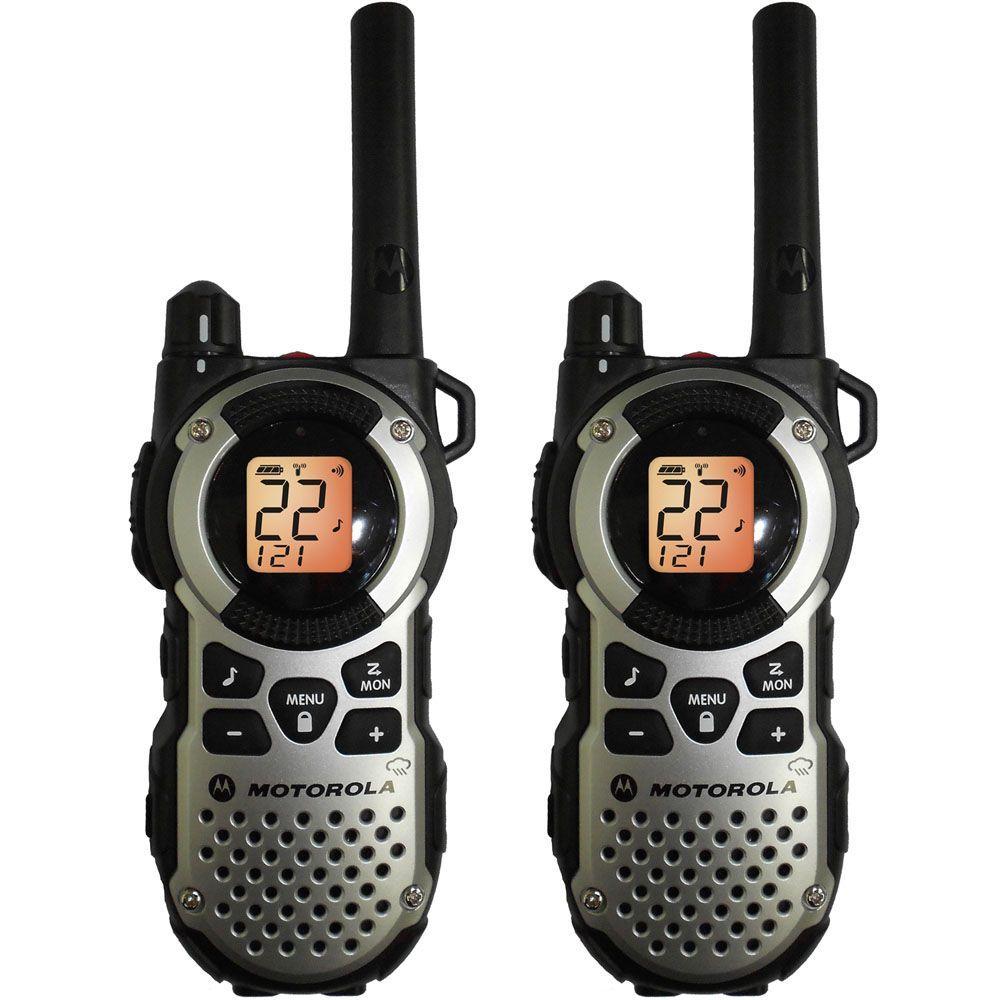 Motorola Talkabout 35-Mile Range 22 Channel 2-Way Radio Weatherproof-DISCONTINUED
